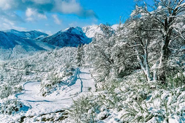 Muita neve em Bariloche em 2004