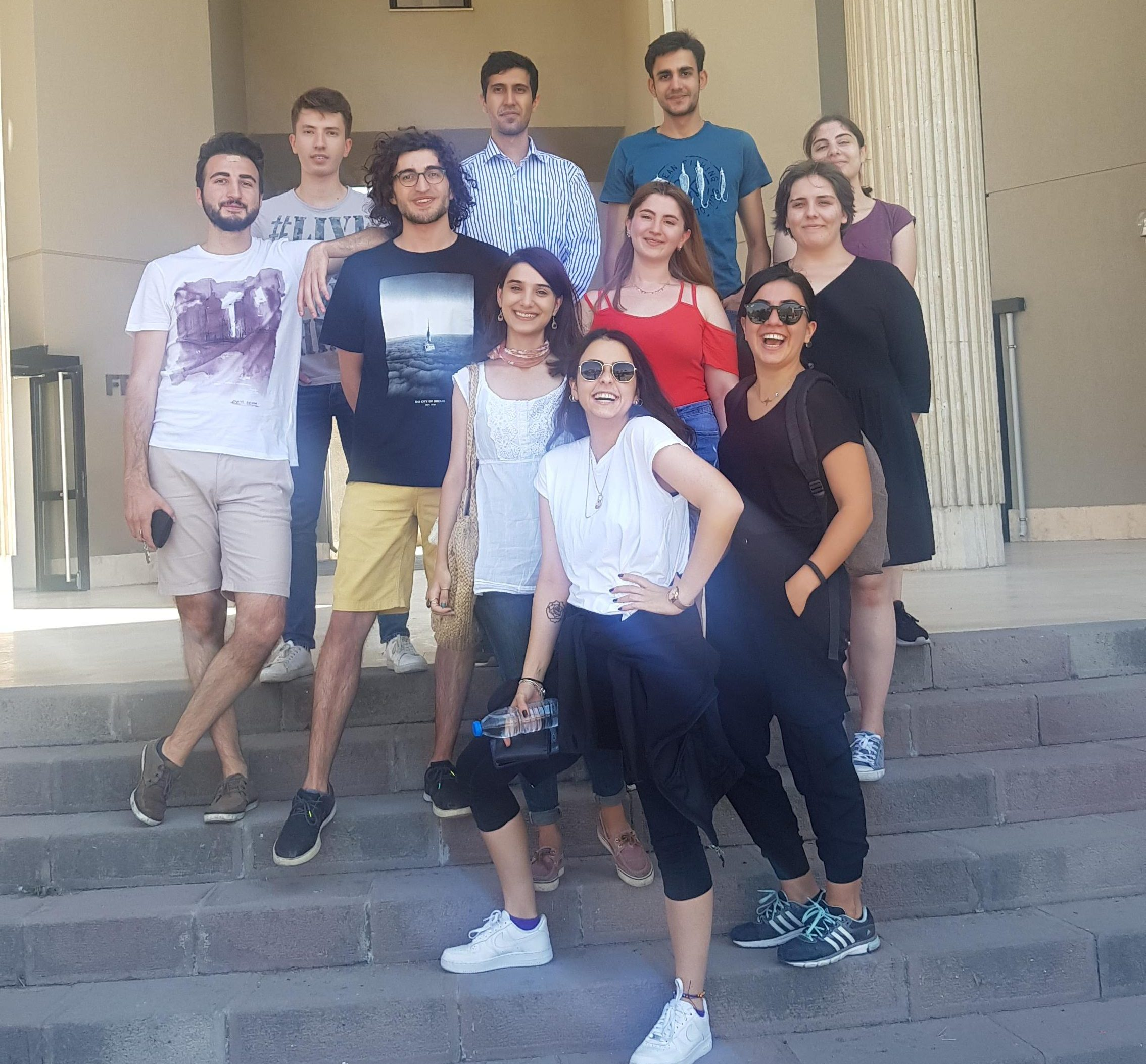 2018-2019 summer term interns of UMRAM graduated