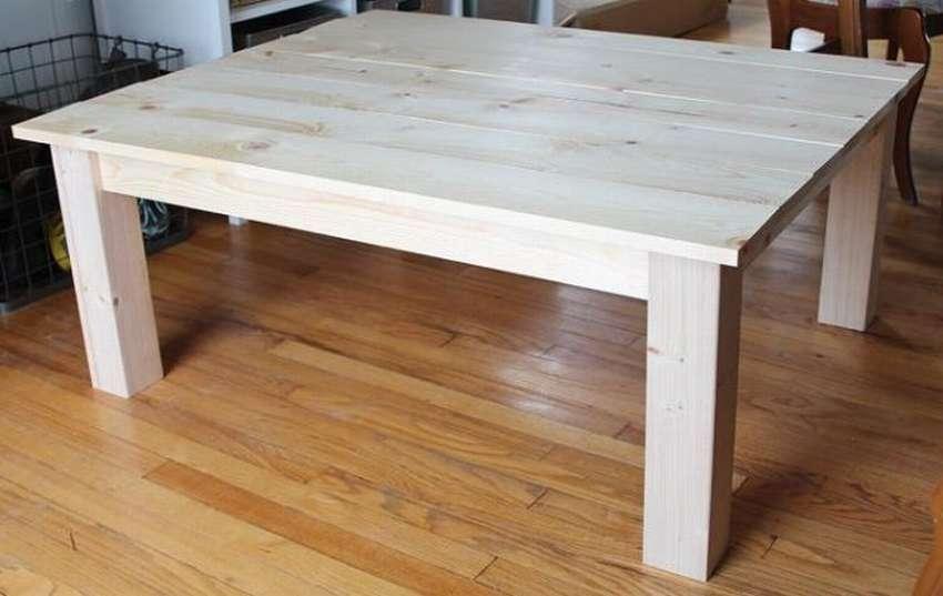 چگونه یک میز قهوه را از یک درخت بسازیم