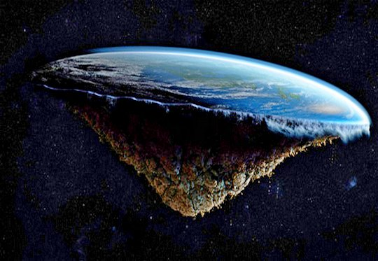 A terra não é redonda? Veja isso...