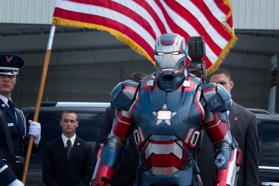 """""""Homem de Ferro 3"""" - Patriota de Ferro"""
