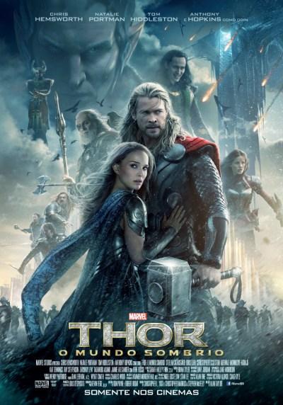 Thor - O Mundo Sombrio - novo poster brasileiro