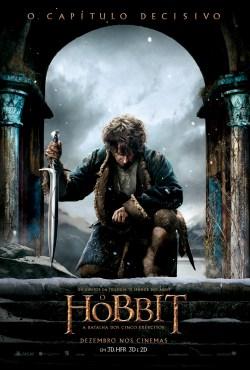 O Hobbit: A Batalha dos Cinco Exércitos  ganha novo pôster brasileiro