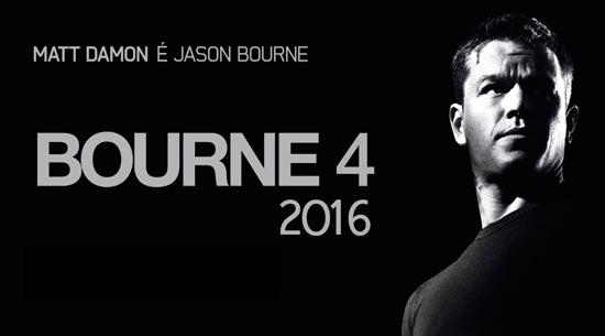 Jason Bourne de volta em 2016?