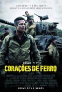 Corações de Ferro | Pôster brasileiro
