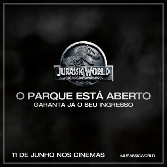 Jurassic World – Mundo dos Dinossauros | Pré Venda