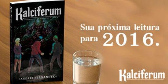 Kalciferum - Demônios, Bruxas e Vagantes | O Livro do Andrei Fernandes