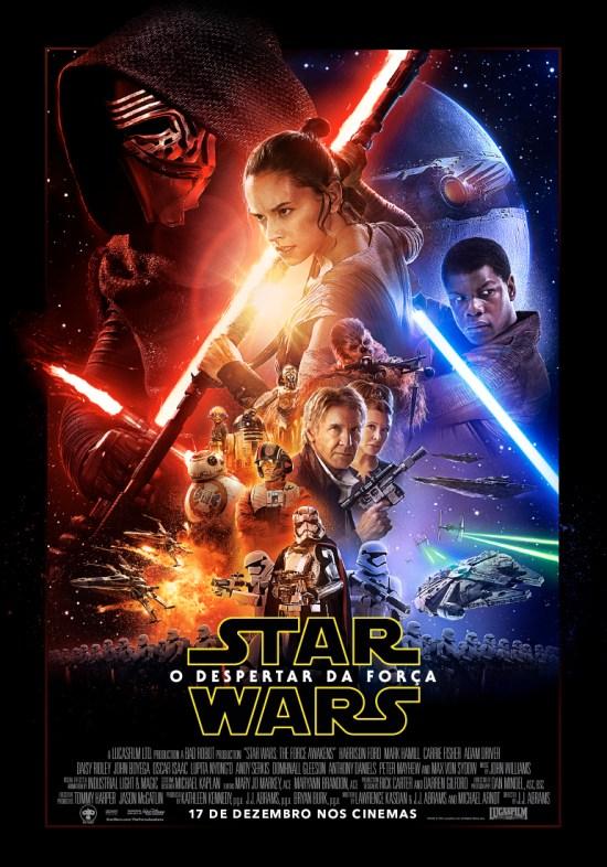 Star Wars: Episódio VII - O Despertar da Força | Pôster nacional