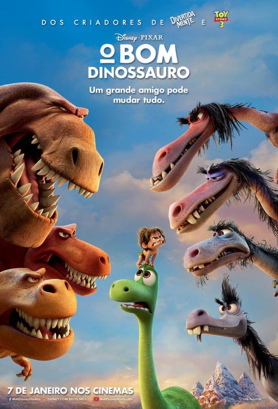 O Bom Dinossauro | Pôster nacional