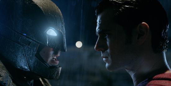 BEN AFFLECK as Batman and HENRY CAVILL as Superman