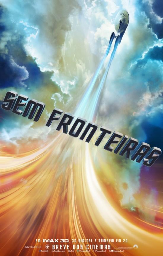 Star Trek: Sem Fronteiras   Teaser Pôster