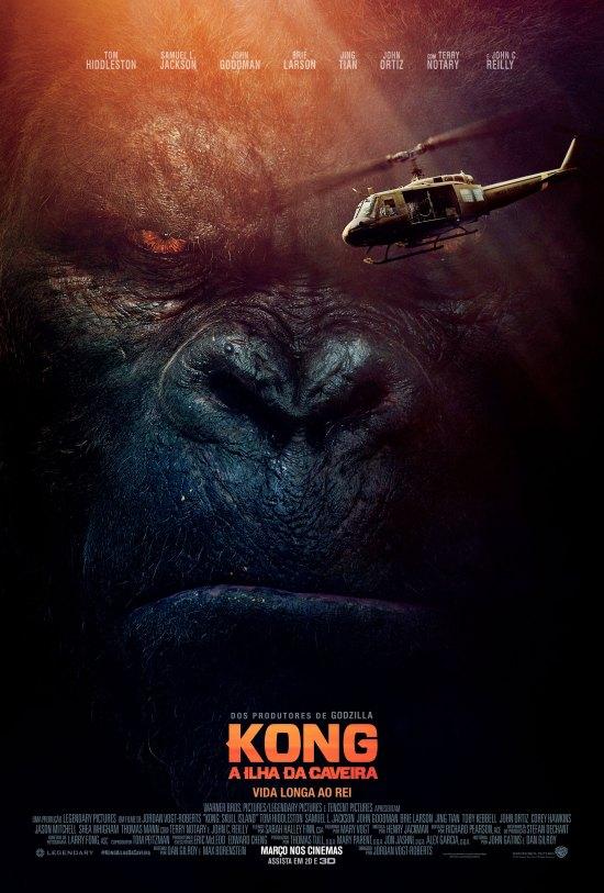 Kong: A Ilha da Caveira | Cartaz