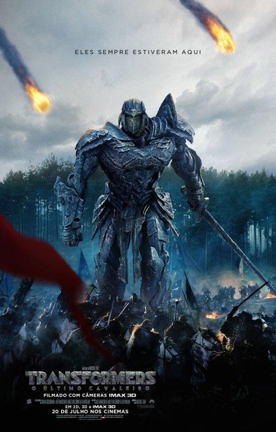 Transformers: O Último Cavaleiro | Cartaz nacional