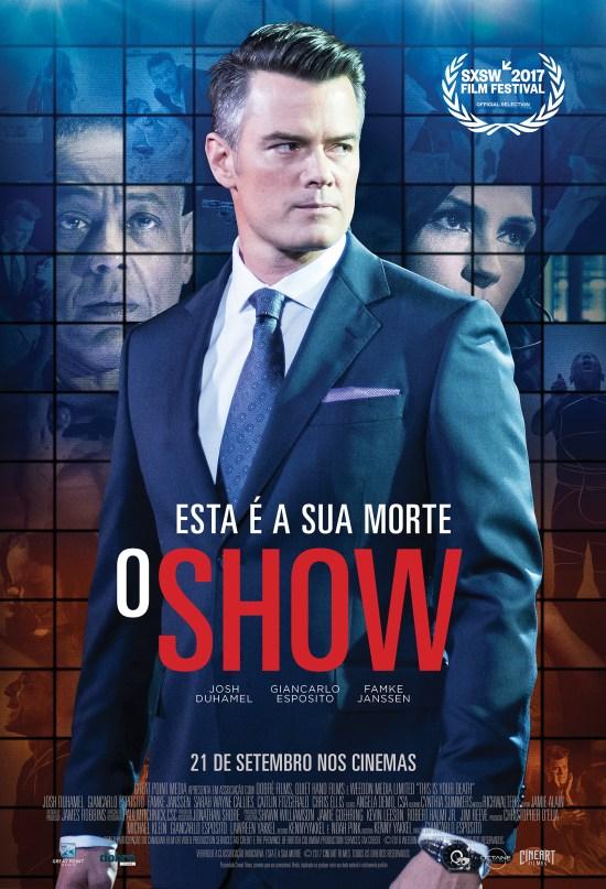 Esta é a Sua Morte: O Show | Cartaz brasil