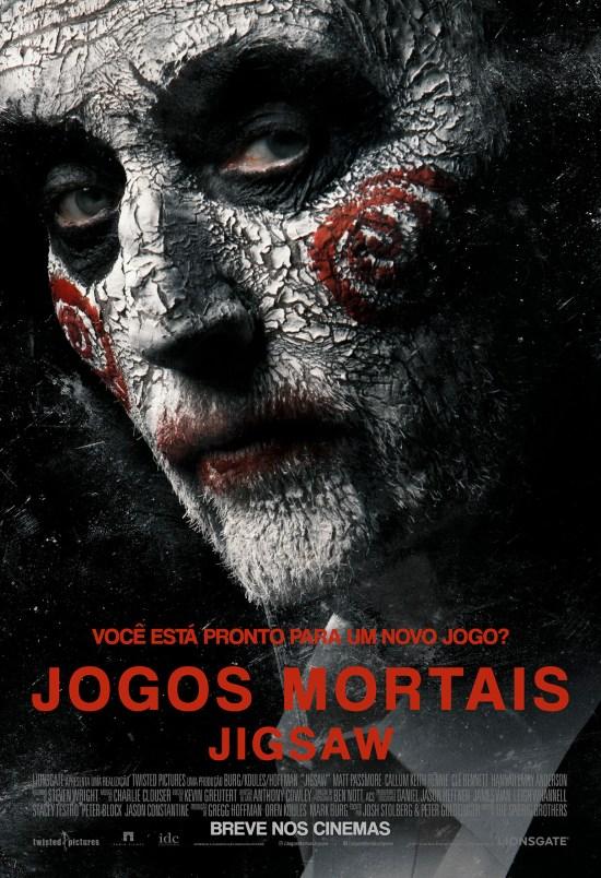 Jogos Mortais: Jigsaw | Cartaz nacional