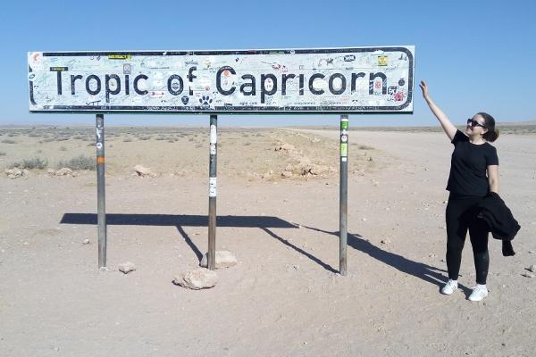 Trópico de Capricórnio - Deserto da Namíbia - UmTour