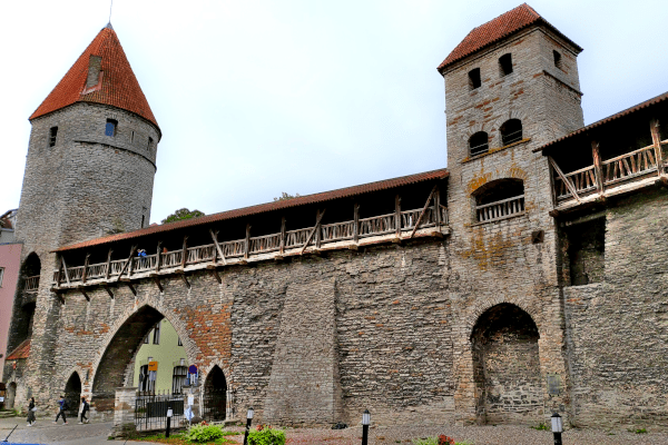 Muralhas medievais de Tallinn - Estônia