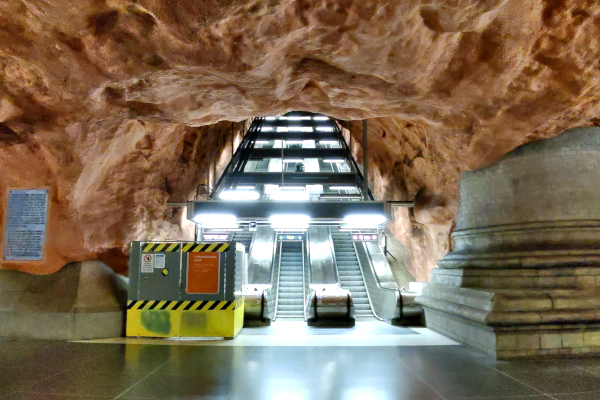 Estocolmo - Suécia - T-Centralen - UmTour