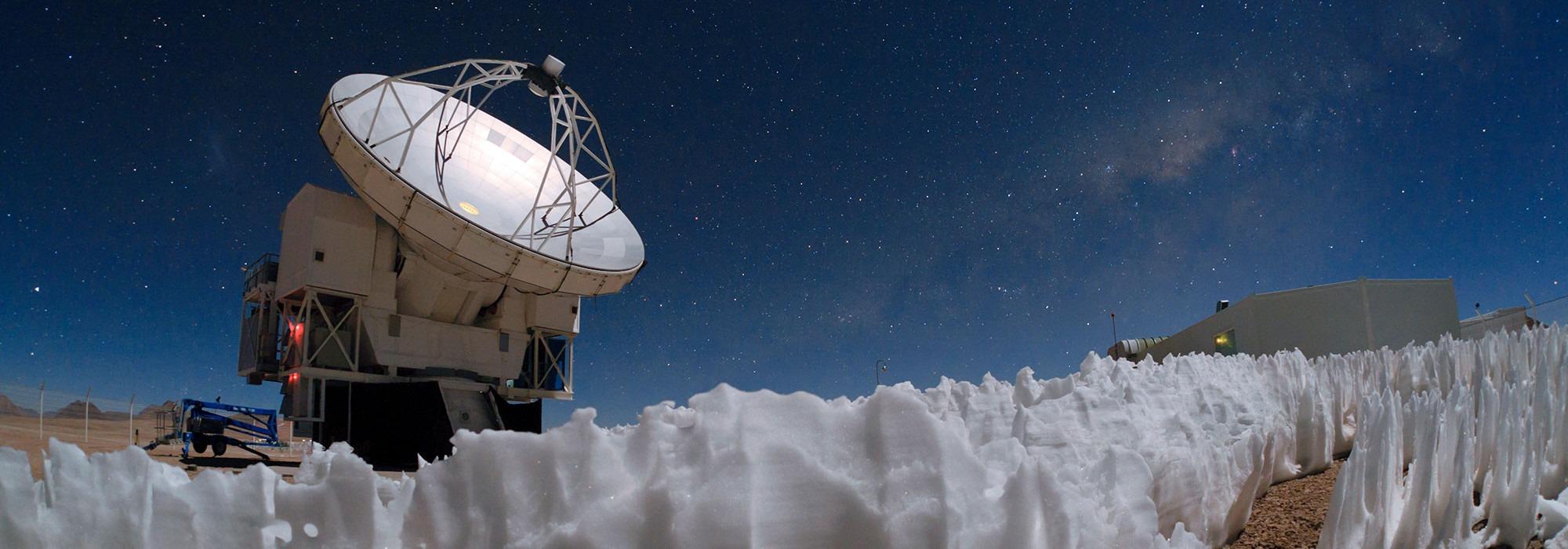 APEX Teleskobu: ALMA'nın İlk Öncüsü