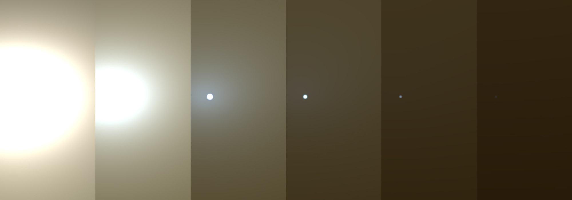 Mars'ta küresel fırtına