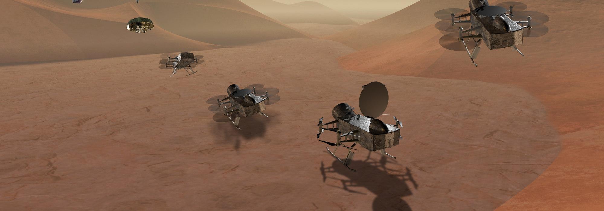 NASA'nın DRAGONFLY Misyonu: Titan'da yaşam arayacak drone