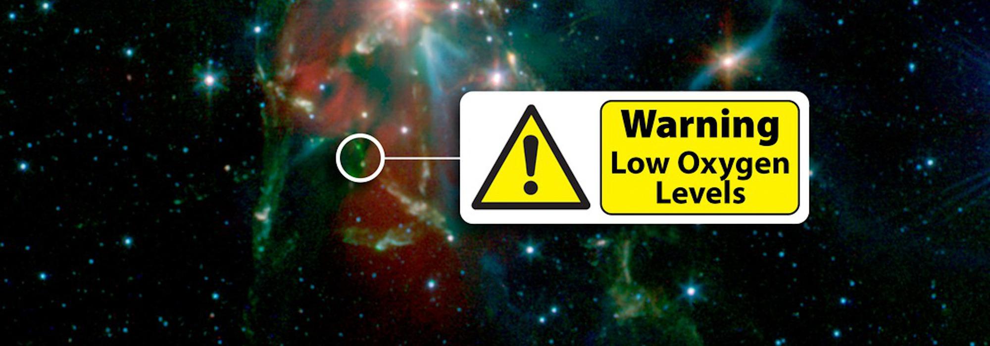 Press Release: Herschel Uncovers a Dearth of Oxygen near a New Star