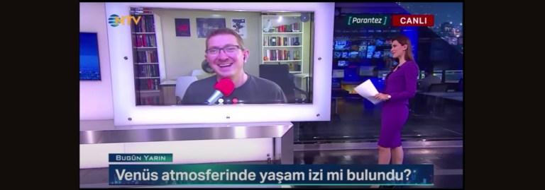 NTV | Hayır, Venüs'te kesin bir yaşam izi bulduk diyemeyiz!