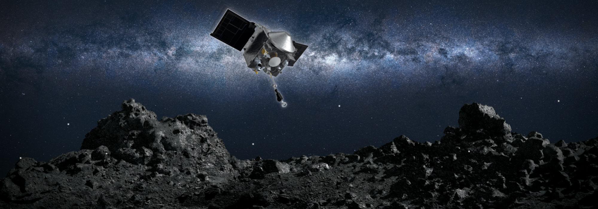 Asteroide Dokunmak… OSIRIS-REx