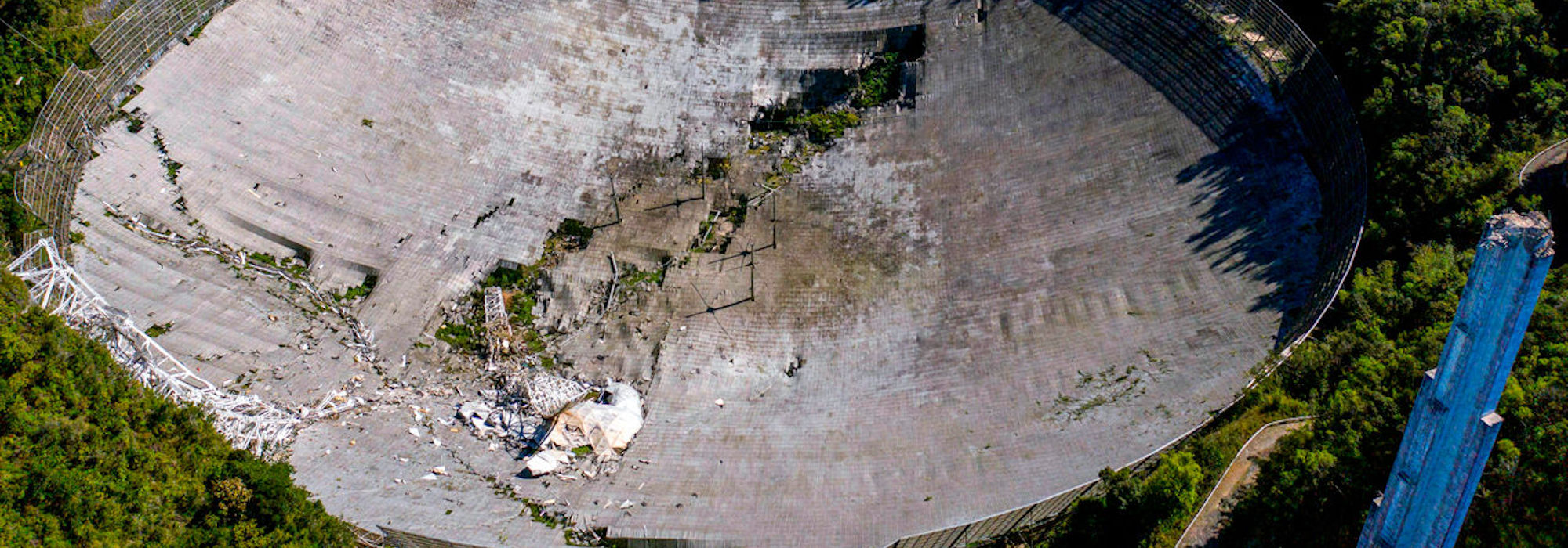 Arecibo Gözlemevi'ne veda