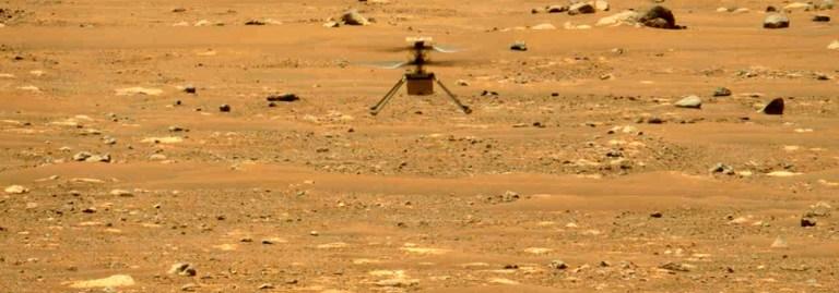 Mars Helikopteri Mars'ta bütün uçuşlarını başardı