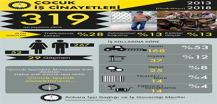 Türkiye'de Çocuk İşçiliği ve Çocuk İş Cinayetleri Raporu – Ankara İSİG Meclisi