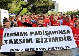 """Birleşik Metal-İş ve Nakliyat-İş'ten basın açıklamasına çağrı: """"1 Mayıs'ta Taksim'e"""""""