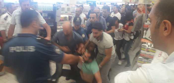 Makro/Uyum işçilerinin eylemine polis saldırdı, 15 kişi gözaltında!