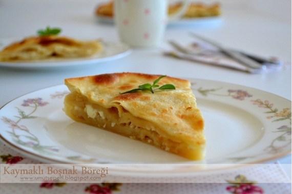 kaymaklı börek,peynirli börekler,börek tarifleri,kolay börek çeşitleri