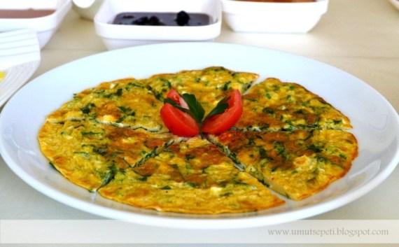 omlet nasıl yapılır,omlet tarifleri,ıspanaklı omlet,peynirli omlet