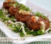 Mozzarella Peynirli Köfte