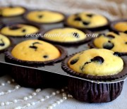 Damla Çikolatalı Pamuk Cupcake ;)