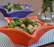 Semizotlu Fasulye Salatası