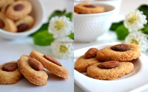 kurabiye tarifleri,bademli kurabiye