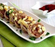 Yufkalı  Köfte  Kebabı  Tarifi
