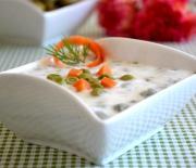 Yoğurtlu  Bezelye  Salatası Tarifi