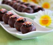 Kakaolu  Bisküvi  Topları  Tarifi