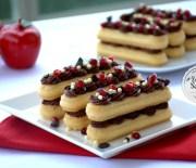 Çikolatalı  Pratik  Ekler  Pasta  Tarifi
