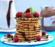 Yulaflı  Çikolatalı  Pancake  Tarifi