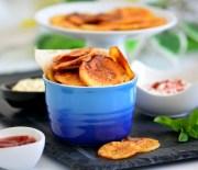 Fırında  Patates  Cipsi  Tarifi ( Ev  Yapımı  Cips  Tarifi )