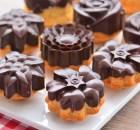 Çikolata  Kaplı  Enfes  Kek