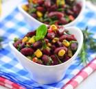 Meksika  Fasulye Salatası  ( 3  dakika  tarifleri )
