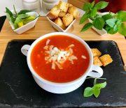10 Dakikada Domates Çorbası