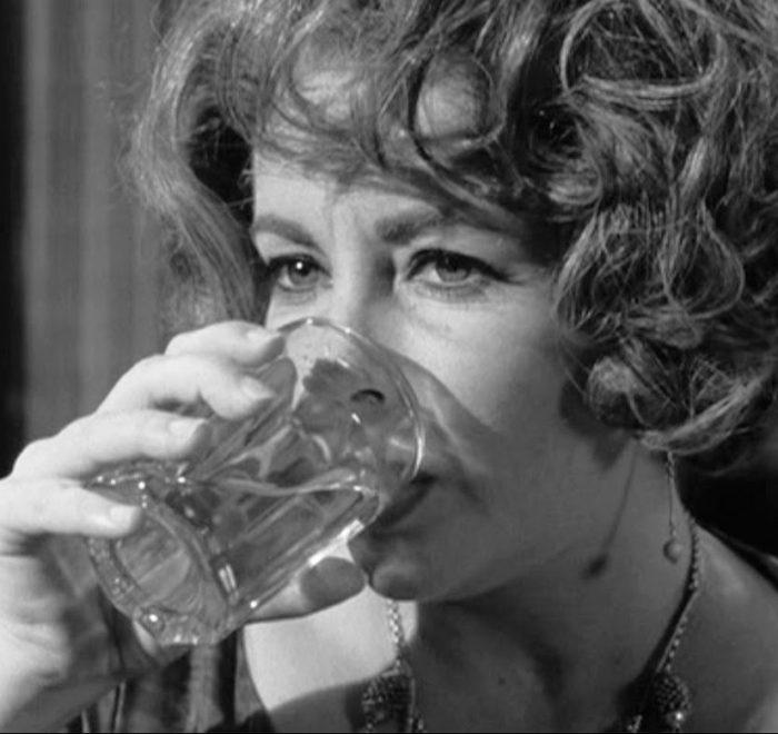 A film still of Elizabeth Taylor in Who's Afraid of Virginia Woolf