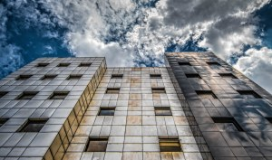 A photo of a building reaching up to the sky by Wayne S. Grazio on Flickr